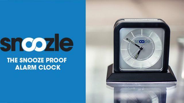 与底座合体才能停下来的闹钟 让你更准时起床