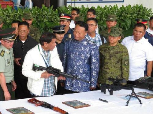 菲媒:杜特尔特对中国雪中送炭军援非常感谢