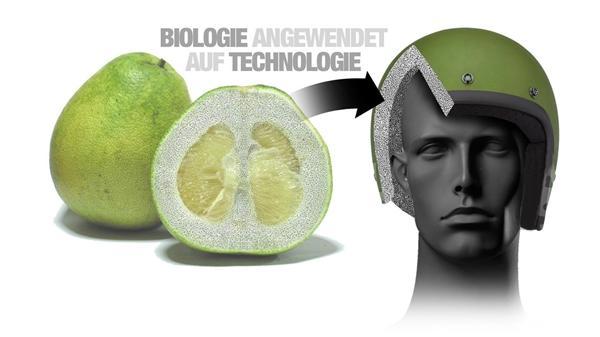 宝马用柚子皮造出超强头盔:硬度超钢铁