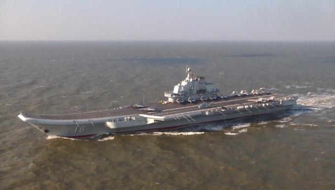 海军发言人披露辽宁舰航母编队赴港细节