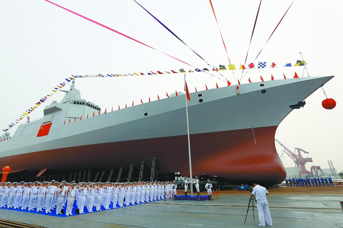 美称中国新驱逐舰压制美海军 打破亚洲军力平衡