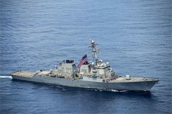 社评:美舰再闯我12海里,就得空着手滚