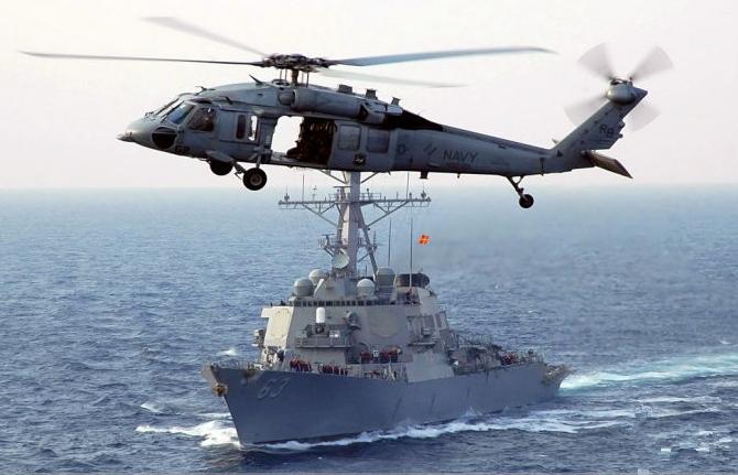 美舰擅闯西沙被中方警告驱离 美上将曾强硬表态