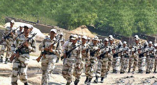 印边境警察部队换新参谋长:印中边境依政策执勤