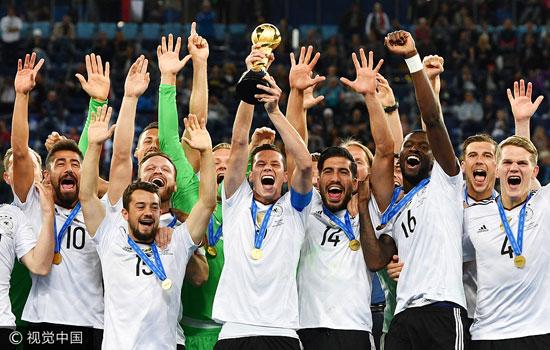 联合会杯-施廷德尔收大礼 德国1-0智利首次夺冠