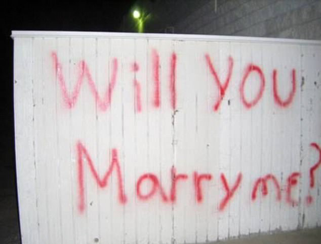 这样的求婚吃不消…图片