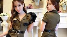 韩国美女警察网上晒制服照  或遭遇处分