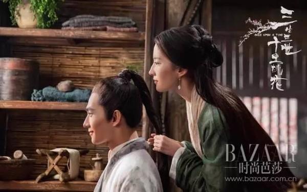 """刘亦菲的""""桃花颜""""美到没朋友,难怪杨洋爱了她三生三世!"""