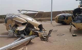 大风让这国家空军遭受重大损失