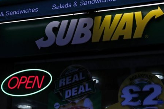 美快餐品牌赛百味拟在英国爱尔兰开3000家连锁店