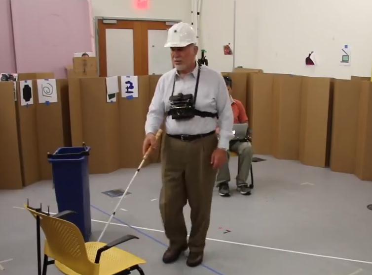 科技雷不撕:麻省理工开发高科技导航拐杖