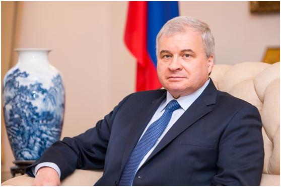 """俄罗斯驻华大使:俄中高层频繁接触,无讨论""""禁区"""""""