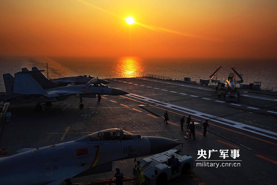 专家谈辽宁舰一级战斗部署:随时对目标进行打击