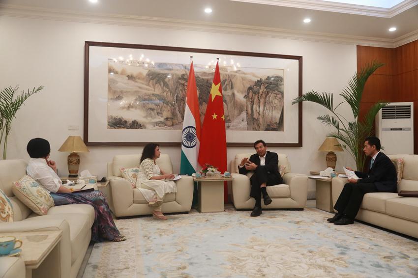 中国驻印大使谈印军越界:首次出现如此严重事态