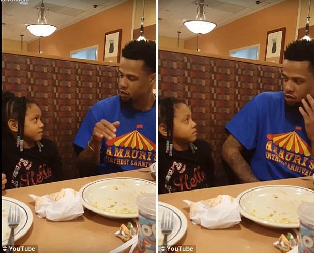男子呵斥5岁女儿结交男友场面滑稽可笑