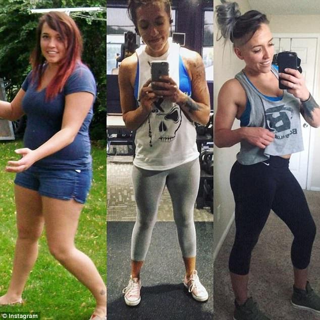 美女子减肥后难忍后遗症 增肥32斤重获快乐