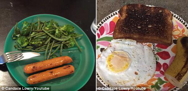 美女子尝试变态减肥食谱 1周减9斤过程痛苦