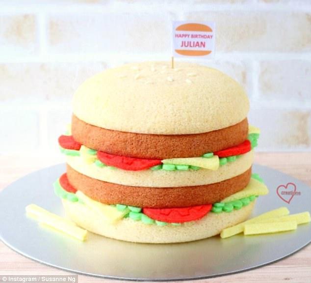 新加坡妈妈烘焙卡通蛋糕 外形逼真堪比真实玩偶