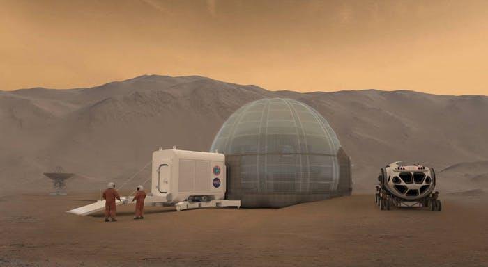 小型铀核裂变反应器有望为移民火星提供电力