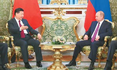 习近平:中俄两国合作没有止境