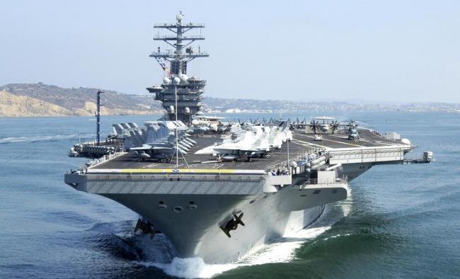 遏制中国?印美日将出动最大战舰参与联合军演