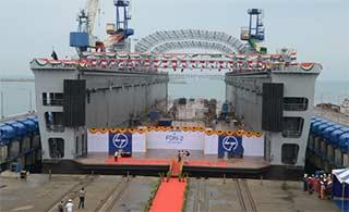 印度紧跟中国步伐搞出浮动船坞