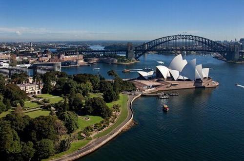 皇家植物园浓缩悉尼和谐