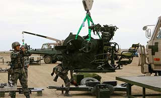 陆军军械能手维修训练条件好很多