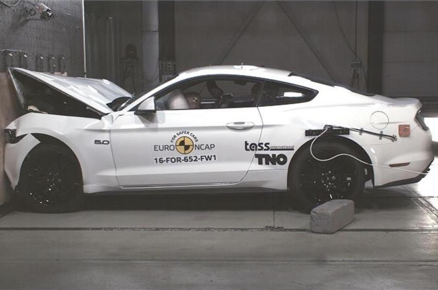 福特野马新一轮欧洲碰撞测试获三星评级