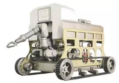 """强核辐射环境下的""""孤胆英雄"""":核电应急机器人"""
