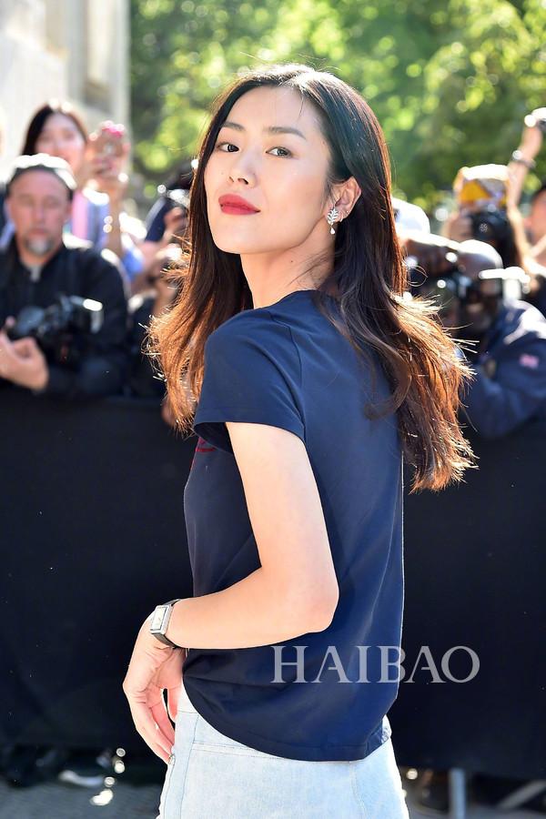 女生最美丽 从街拍到私照,超模刘雯的图片