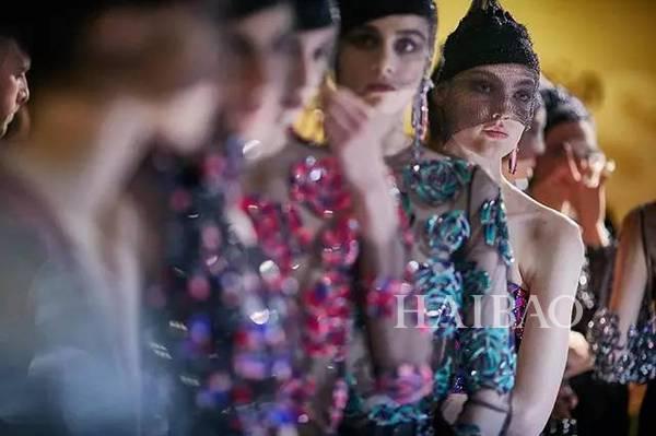 Giorgio Armani 2017秋冬高订大秀妆容美出新高度,宅女看了都分分钟想化妆