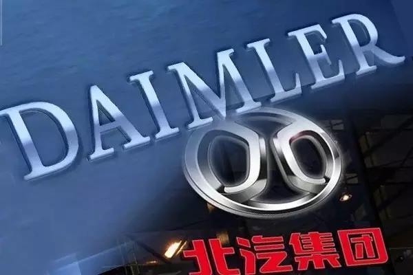 北汽、戴姆勒增资50亿元:EQ电动车将导入北京奔驰
