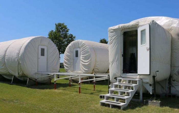 """NASA正在北达科他州扩建""""火星殖民地"""""""