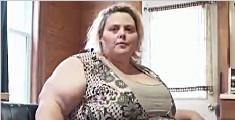 女子增重求破最大臀纪录