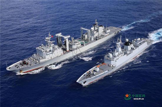 印媒:印度紧盯中国海军在印度洋的活动足迹