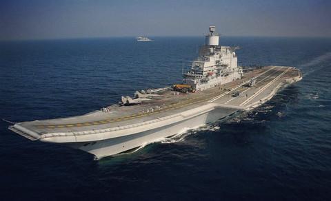 中国军舰监视美日印大军演?印度媒体过度敏感