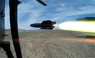 第一视角看直-19发射对地导弹