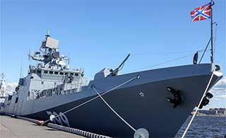 俄海军最先进护卫舰就这水平?