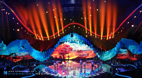 """《魅力中国城》舞台视觉设计创新 """"大眼睛""""舞美惊人"""