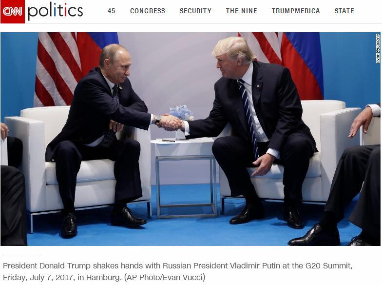 特朗普和普京,终于见面了