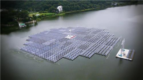 韩国将建设世界最大规模水上太阳能发电站