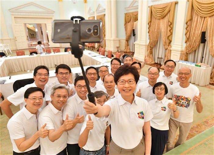 林郑月娥要求官员勤政爱民 将于10月发表施政报告