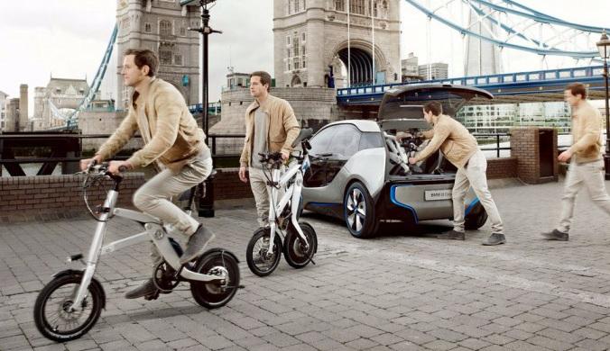 宝马推出新款X2City折叠式电动自行车