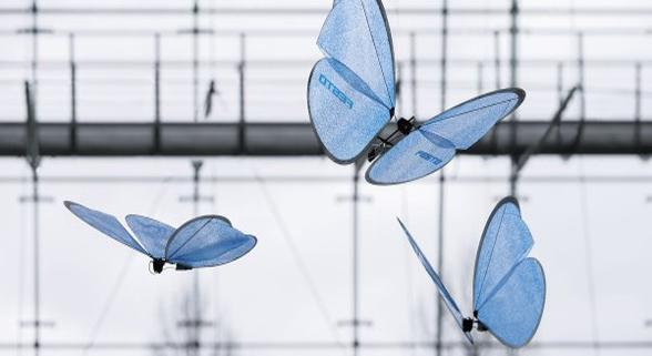 从飞行蝙蝠到章鱼 盘点人类造出的动物机器人
