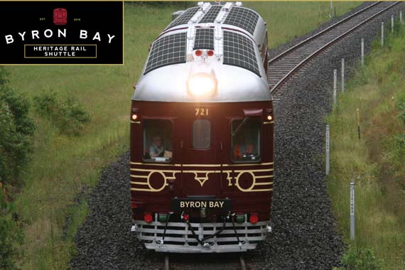 全球首辆太阳能火车将在澳运行 由老火车改造而成
