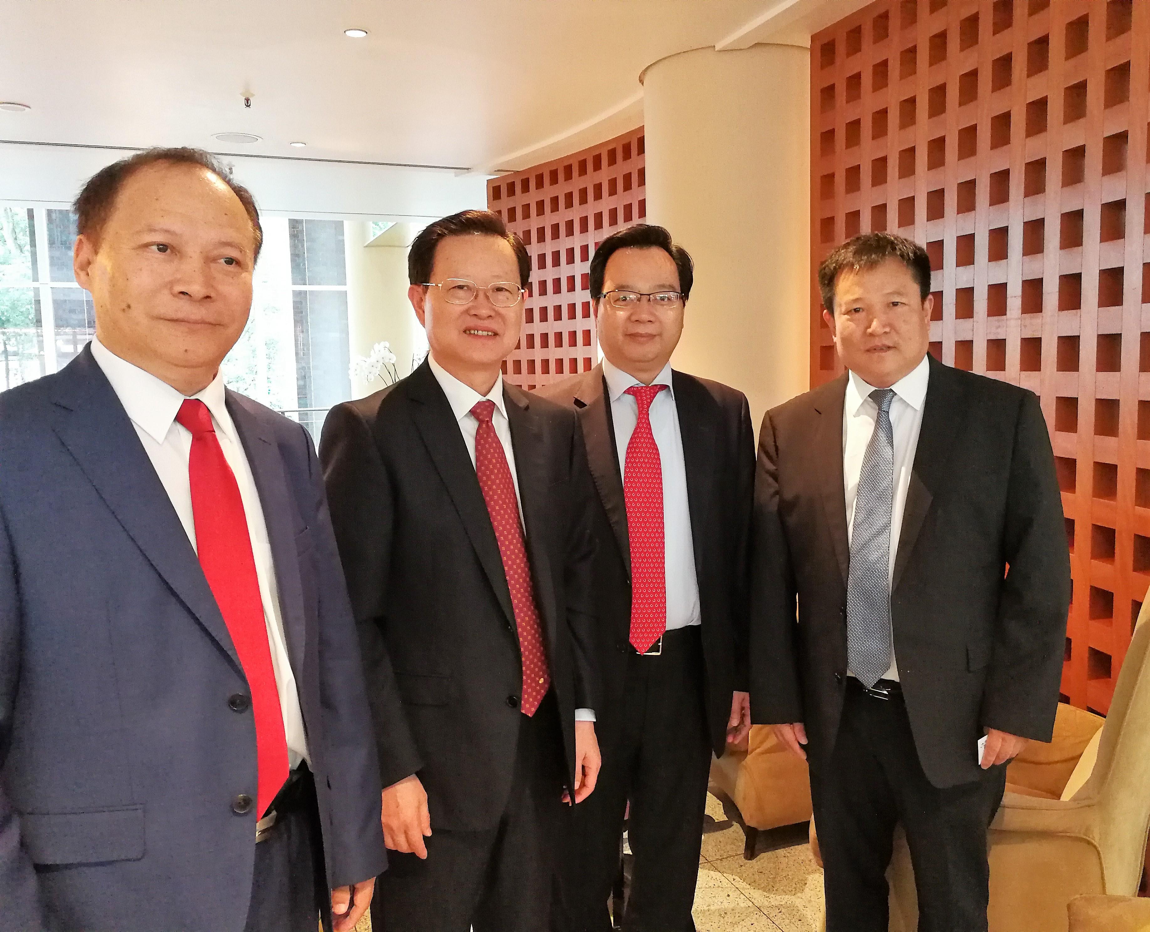 汉堡G20德联邦经济委员会在中国杭州太原力推《德欧中心》