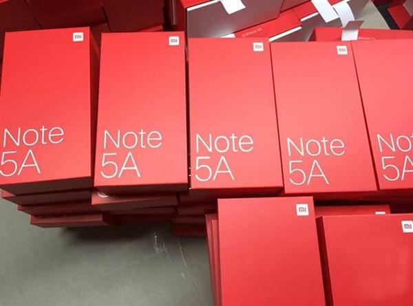 红米Note 5A现身:售价/配置曝光