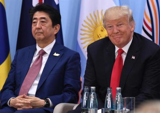 G20峰会上揽队友失败 安倍内阁支持率创新低