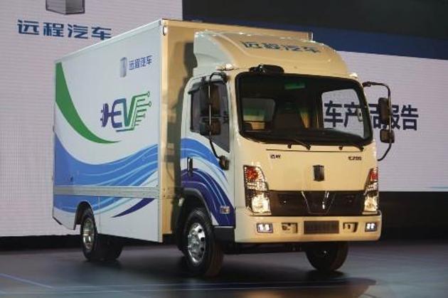 吉利新能源商用车项目南充投产